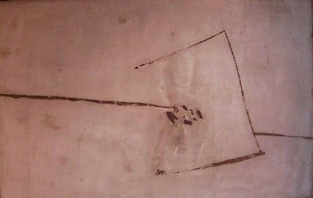 """Contenido ingrávido"", mixta s / t, 100 x 150 cm."
