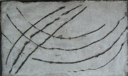 """""""Ones"""", mixta s / t, 20 x 40 cm."""