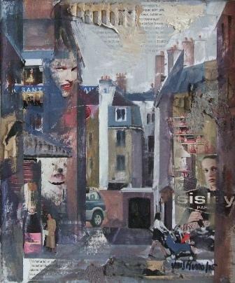 """Sysley (Paris)"", mixta s / t, 27 x 19 cm."